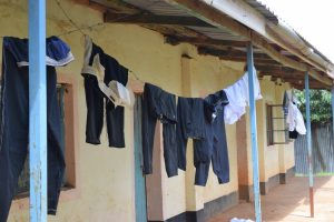 The Water Project:  Clothes Hang To Dry Outside Of Dorms
