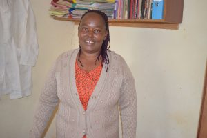 The Water Project:  Damaris Mwende Timothy Deputy Head Teacher