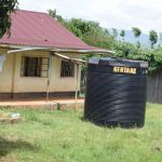 The Water Project: Mutulani Secondary School -  Small Rainwater Tank