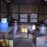 The Water Project: Kimuuni Secondary School -  Inside Kitchen