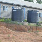 The Water Project: Kimuuni Secondary School -  Small Rainwater Tanks