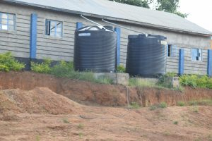 The Water Project:  Small Rainwater Tanks