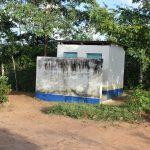 The Water Project: Kimuuni Secondary School -  Staff Latrines