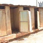 The Water Project: Kamuwongo Primary School -  Boys Latrines