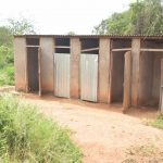 The Water Project: Kamuwongo Primary School -  Girls Latrines
