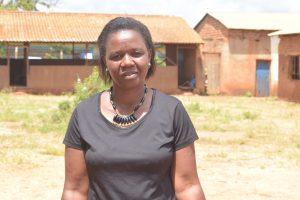 The Water Project:  Mrs Muvea Deputy Head Teacher