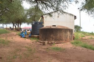 The Water Project:  Small And Old Rainwater Tanks