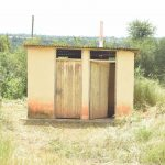 The Water Project: Kamuwongo Primary School -  Staff Latrines