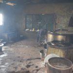 The Water Project: St. Paul Waita Secondary School -  Inside School Kitchen