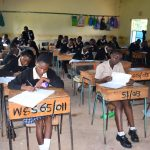 The Water Project: St. Paul Waita Secondary School -  Students In Class