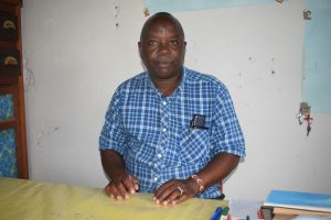 The Water Project:  Justus Mbuvi Deputy Head Teacher