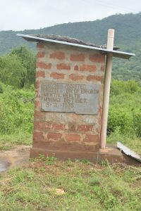 The Water Project:  Staff Latrine