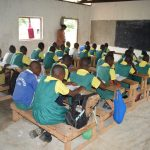 The Water Project: Ndithi Primary School -  Students In Class