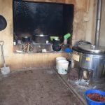 The Water Project: Mutwaathi Secondary School -  Inside Kitchen