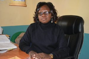 The Water Project:  Mrs Kyalo Principal