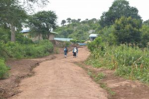 The Water Project:  Road To School
