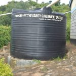 The Water Project: Mutwaathi Secondary School -  Small Rainwater Tank