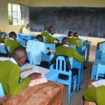 The Water Project: Mutwaathi Secondary School -  Students In Class