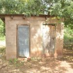 The Water Project: Kalatine Primary School -  Staff Latrines