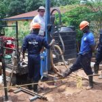 The Water Project: Transmitter, #14 Port Loko Road -  Drilling