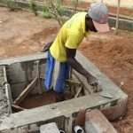 The Water Project: Transmitter, #14 Port Loko Road -  Pad Construction Jpg