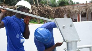The Water Project:  Screwing The Pump Head