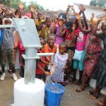 The Water Project: Transmitter, #14 Port Loko Road -  Well Dedication Celebration