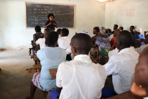 The Water Project:  Facilitator Speaks To The Students