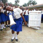 The Water Project: Lokomasama, Musiya, Nelson Mandela Secondary School -  Head Girl Sings At The Dedication
