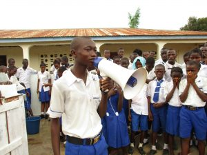 The Water Project:  Head Boy Delivers Speech