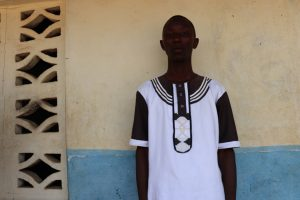 The Water Project:  Mohamed K Turay Acting School Principal