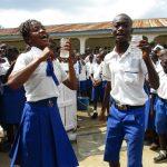 The Water Project: Lokomasama, Musiya, Nelson Mandela Secondary School -  School Head Girl And Head Boy Celebrate