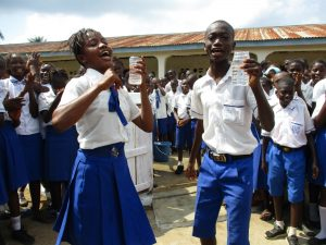 The Water Project:  School Head Girl And Head Boy Celebrate