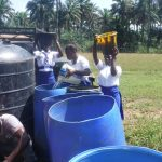 The Water Project: Lokomasama, Musiya, Nelson Mandela Secondary School -  Students Fetch Water For The Construction Workers
