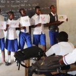 The Water Project: Lokomasama, Musiya, Nelson Mandela Secondary School -  Students Participate In Training