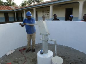 The Water Project:  Testing The Pump