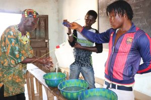 The Water Project:  Tippy Tap Handwashing Demonstration