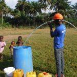 The Water Project: Lokomasama, Musiya, Nelson Mandela Secondary School -  Yield Test