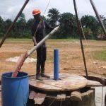 The Water Project: Lokomasama, Bompa, DEC Bompa Primary School -  Bailing