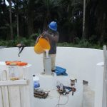 The Water Project: Lokomasama, Bompa, DEC Bompa Primary School -  Chlorination