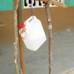 The Water Project: Lokomasama, Bompa, DEC Bompa Primary School -  Example Tippy Tap