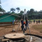 The Water Project: Lokomasama, Bompa, DEC Bompa Primary School -  Fixing The Tripod