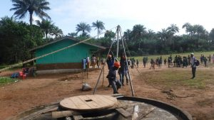 The Water Project:  Fixing The Tripod