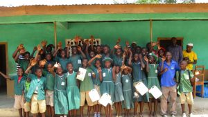 The Water Project:  Students After The Training
