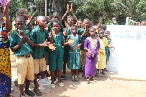The Water Project:  Students Celebrate At Their New Well
