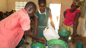 The Water Project:  Students Participate In Handwashing Activity
