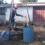 The Water Project: Lungi, Rotifunk, 1 Aminata Lane -  Bailing