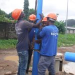 The Water Project: Lungi, Rotifunk, 1 Aminata Lane -  Drilling