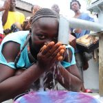 The Water Project: Lungi, Rotifunk, 1 Aminata Lane -  Drinking From The Well