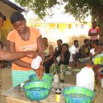 The Water Project: Lungi, Rotifunk, 1 Aminata Lane -  Handwashing